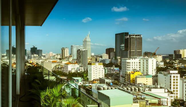 Cityscape, Ho Chi Minh city - foto de stock