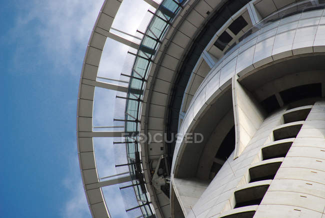 Cropped shot of Sky Tower against sky — Stock Photo