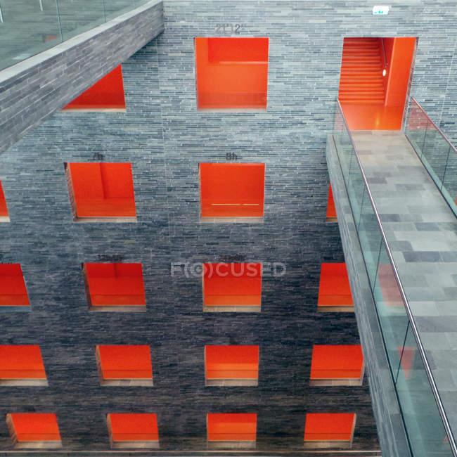 Модель вікна на висотної будівлі — стокове фото