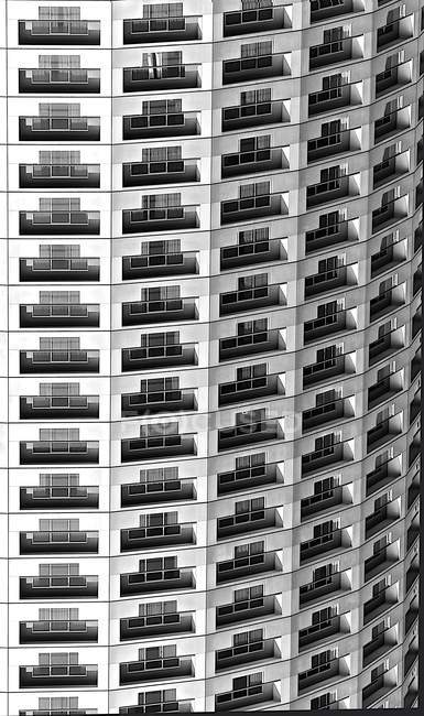 Pattern of close-up abstract building — Stock Photo