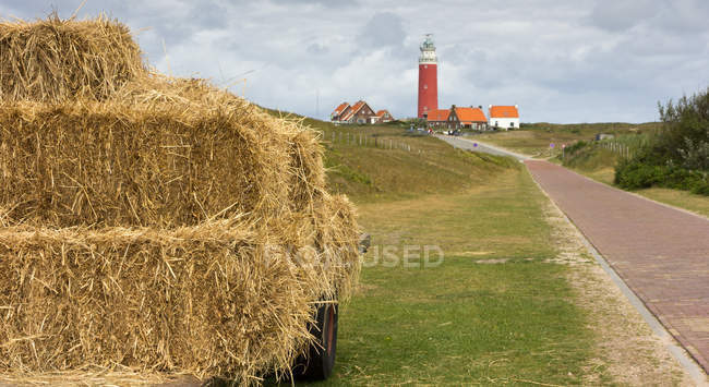 View on Texel Lighthouse — Stock Photo