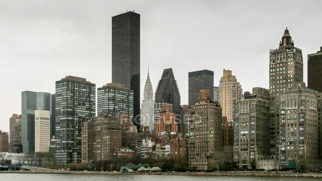 View on Manhattan skyline — Stock Photo
