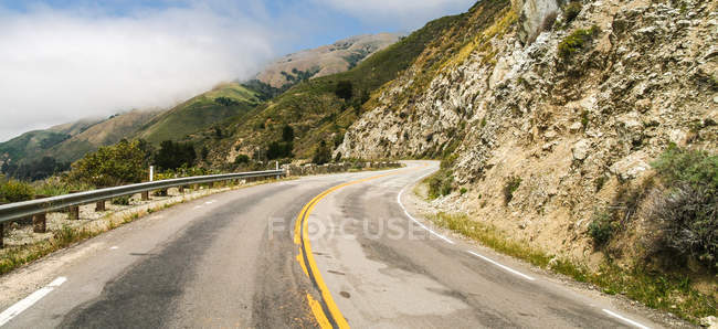 View on Highway at Big Sur during daytime — Stock Photo