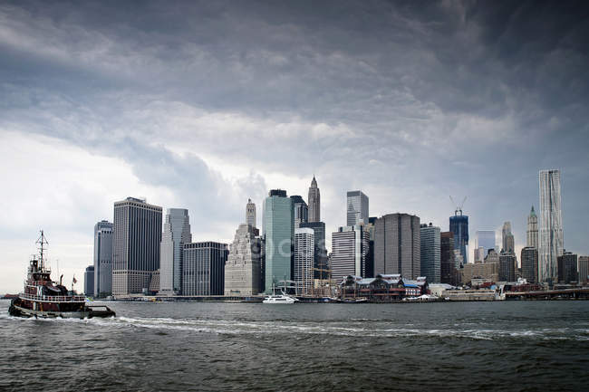 Manhattan Skyline, New York — Stockfoto