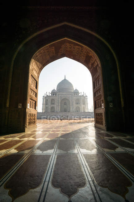 Vue du taj mahal — Photo de stock