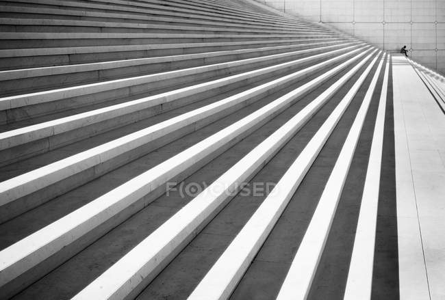 Close-up of outdoor stairs — Stock Photo