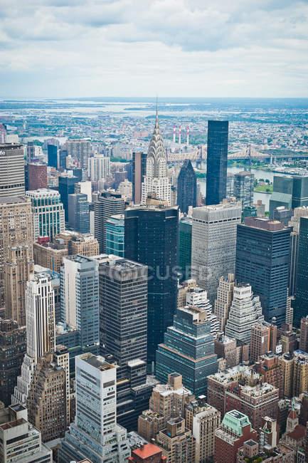 Manhattan Skyline, New York — Stockfoto