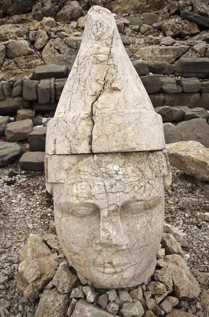 Esculturas em pedra em Nemrut Dagi — Fotografia de Stock