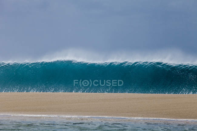 Wave breaking, Hawaii — Stock Photo