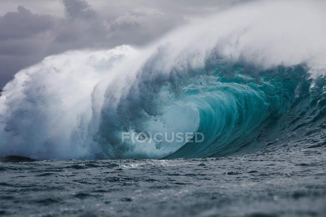 Трубки хвиля, Гаваї — стокове фото