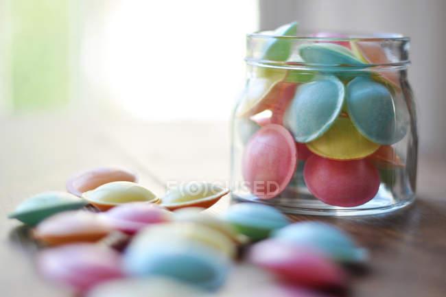 Dulces de color pastel - foto de stock
