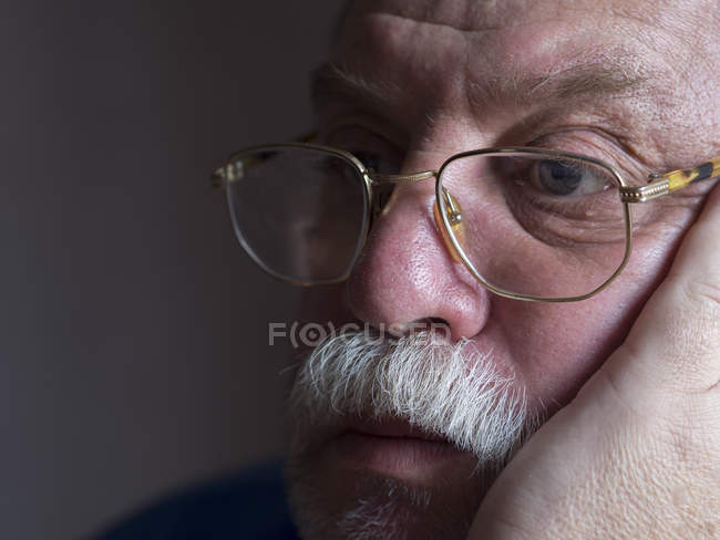 Sad bearded man — Stock Photo