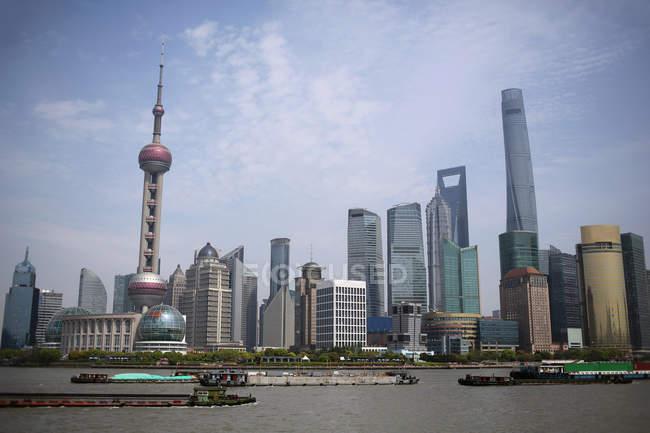 City skyline during daytime — Stock Photo