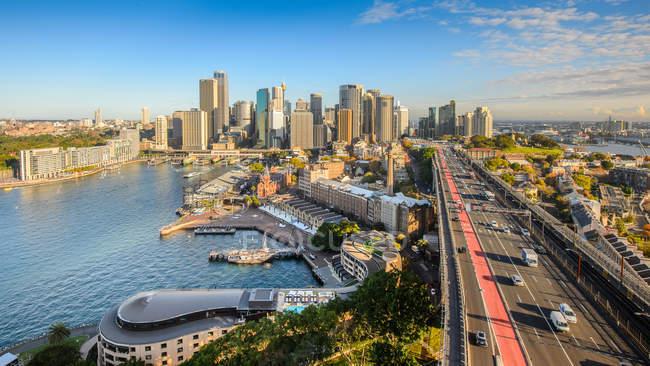 Scenic view of downtown, Sydney, Australia — Stock Photo