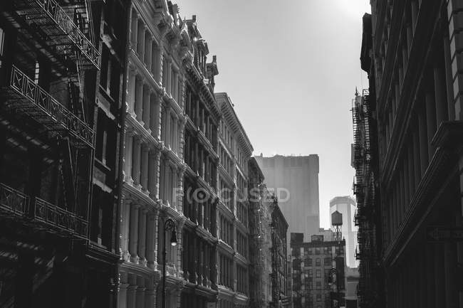 USA, New York State, New York City, Soho, Greene Street — Stock Photo