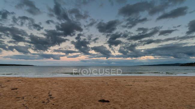 Scenic view of Eden Beach, New South Wales, Australia — Stock Photo