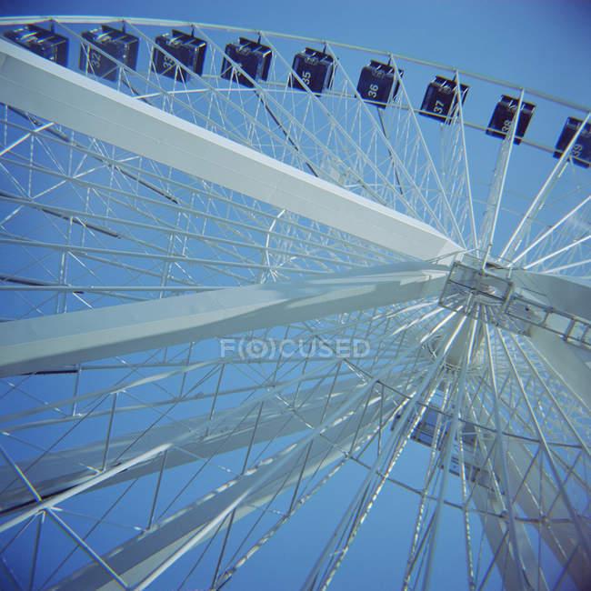 Vue faible angle de grande roue à Montréal, Québec, Canada — Photo de stock