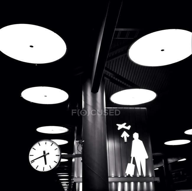 Sweden, Stockholm, Train station at Arlanda Airport — Stockfoto