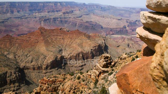 Мальовничий вид на Гранд Каньйон Національний парк, штат Арізона, Америка, США — стокове фото