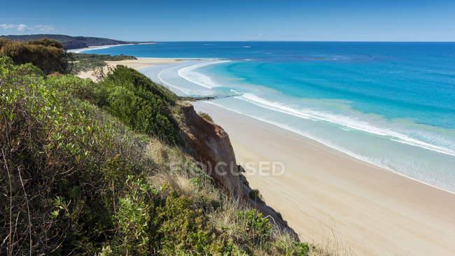 Scenic view of anglesea beach, Victoria, Australia — Stock Photo