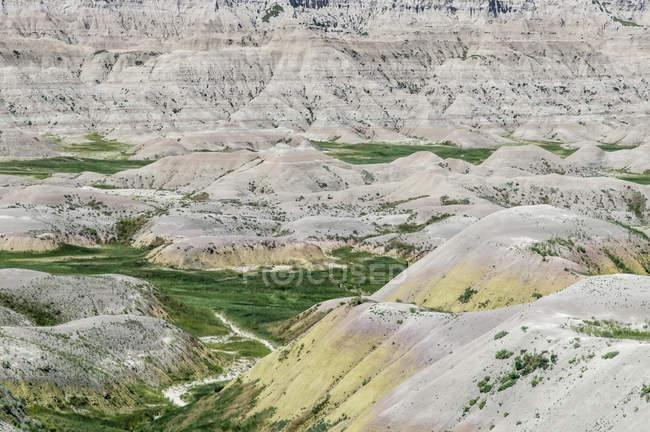 Malerische Aussicht auf die majestätische Berglandschaft — Stockfoto