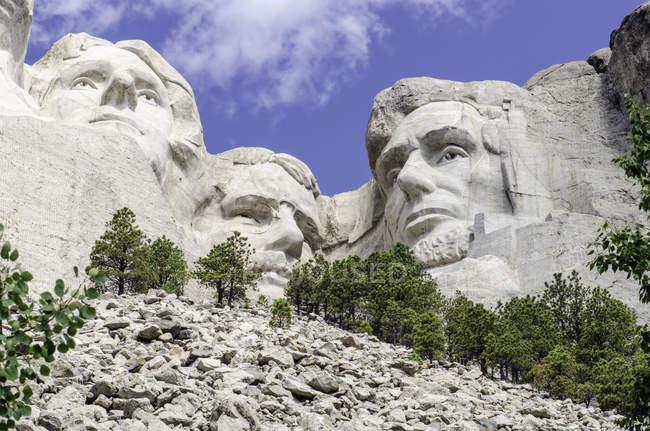 Vista di Mt Rushmore National Monument, Usa, Sud Dakota, Mount Rushmore — Foto stock