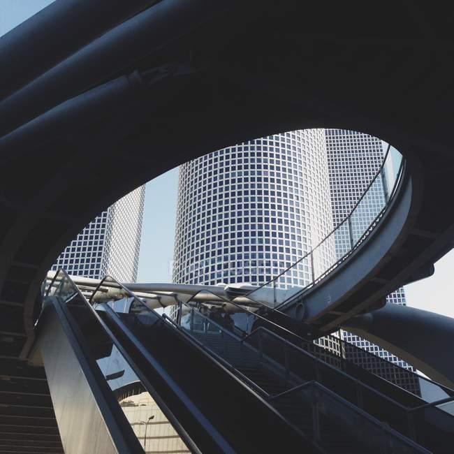 Vista del complejo Azrieli Towers en Tel Aviv, Israel - foto de stock