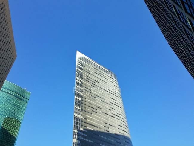 Vista panorámica de los rascacielos modernos, Tokio, Japón - foto de stock