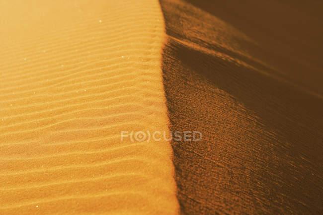 Crête de texture dunaire, Namibie — Photo de stock