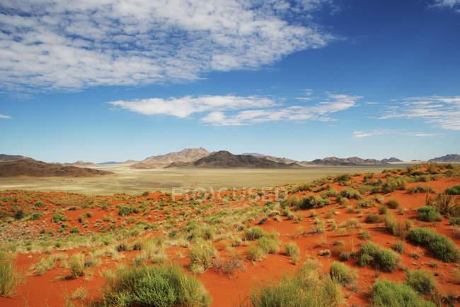 Desert and mountain landscape, Namib-Naukluft National park, Namibia — Stock Photo
