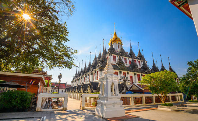Scenic view of Metal Castle, Loha Prasat, Thailand — Stock Photo