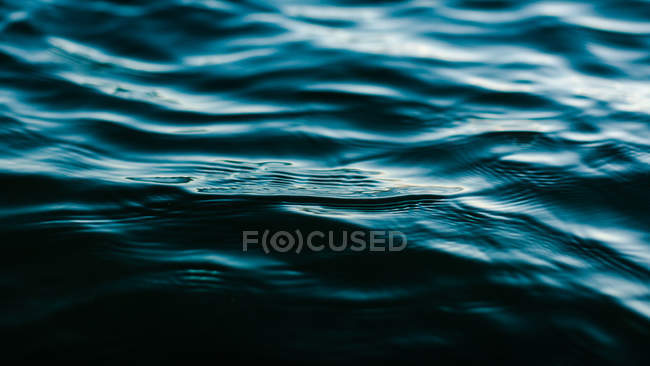 Close-up of the Pacific ocean water at sunset — Stock Photo
