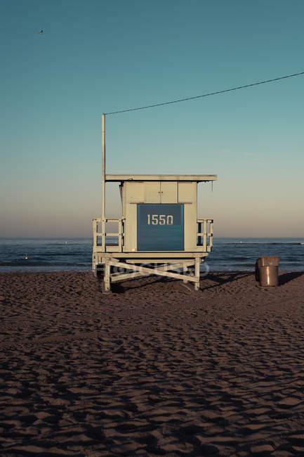 Рятувальник станції в Америці Веніс-Біч, Лос-Анджелес, Каліфорнія, США — стокове фото