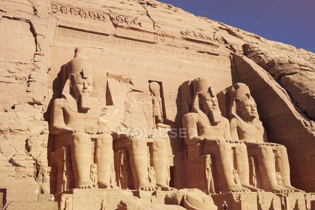 Scenic view of Temple of Karnak, Egypt — Stock Photo