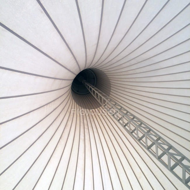 Low angle view of tent top — Stock Photo