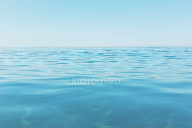 Scenic view of turquoise sea water — Stock Photo