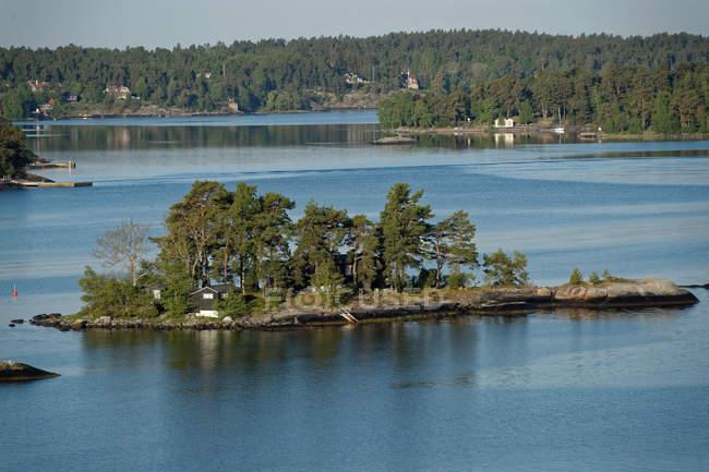 Vista panoramica dell'arcipelago di Stoccolma, Svezia — Foto stock