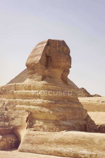 Scenic view of Sphinx, Giza, Egypt — Stock Photo