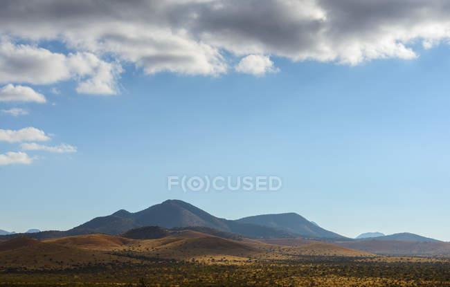 Vista panoramica del paesaggio di montagna, Fort Davis, Texas, Usa — Foto stock