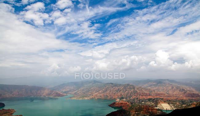 Scenic view of Kanbula national Forest Park, Danxia, China — Stock Photo