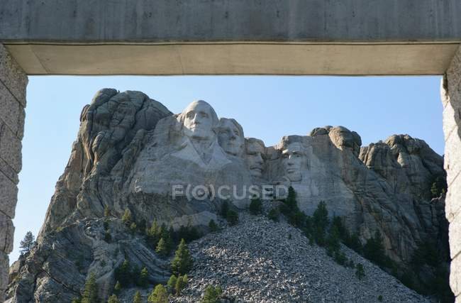 Mount Rushmore National Memorial, South Dakota, America, USA — Stock Photo