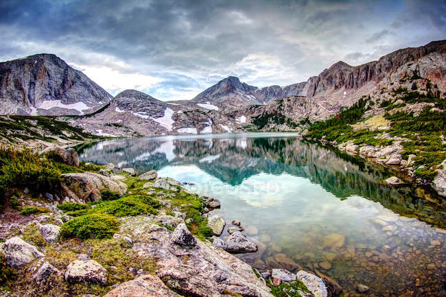 Scenic view of famous Wind river, Utah, USA — Stock Photo