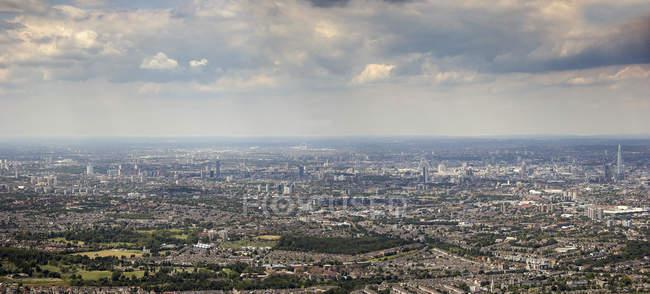 Вид з лондонського Сіті, Англія, Великобританія — стокове фото
