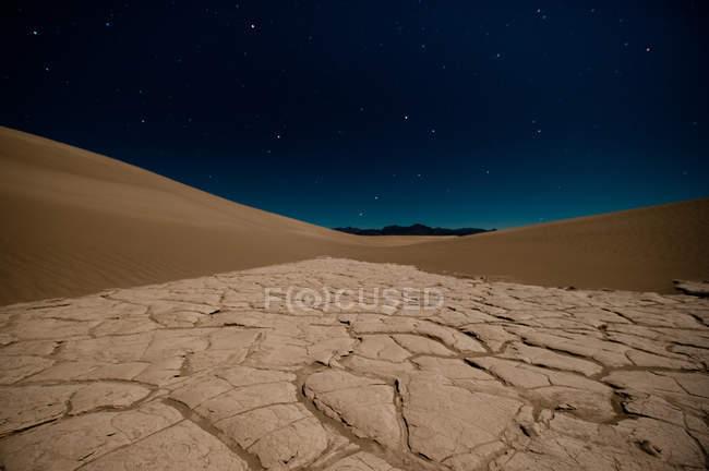 Dunes de sable dans la vallée de la mort, Death Valley National Park, Californie, Amérique, États-Unis — Photo de stock