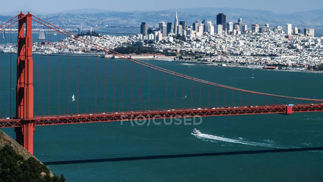 Золоті ворота міст, США, Каліфорнія, Сан-Франциско — стокове фото