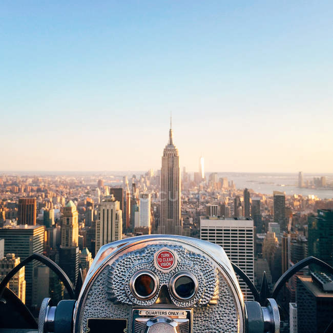 Vue de l'Empire State Building, Etats-Unis, New York State, New York City — Photo de stock