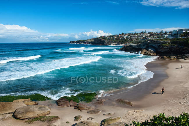 Scenic view of majestic Tamarama beach, Sydney, Australia — Stock Photo