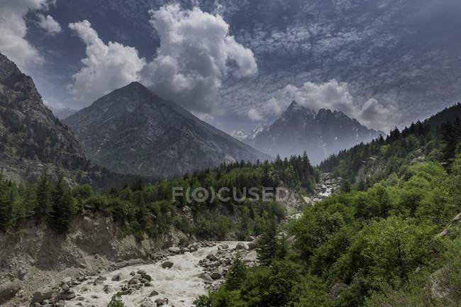 Vue panoramique du paysage majestueux, Inde — Photo de stock