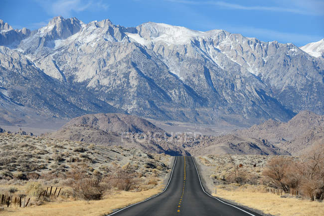 Malerische Landschaft mit Mt Whitney, Kalifornien, Usa — Stockfoto