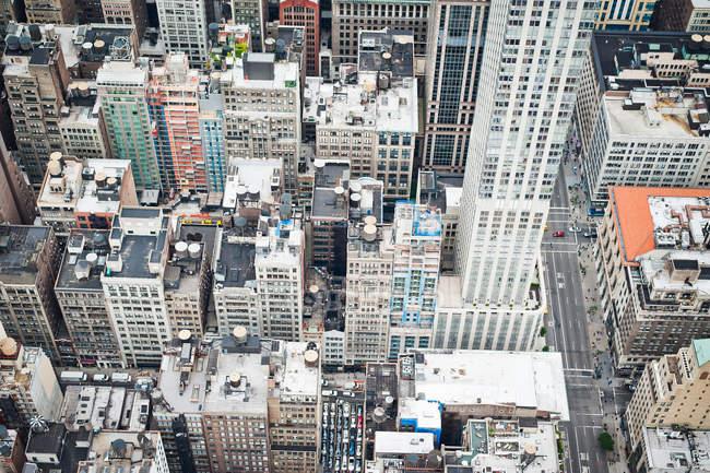 Manhattan rooftops, New York — Stock Photo